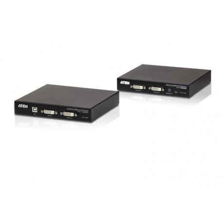 ATEN CE624 USB DVI Dual View HDBaseT 2.0 KVM Extender