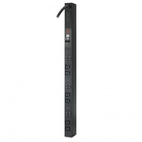 APC AP7855A Rack PDU, Metered, Zero U, 22kW, 400V, (6) C19