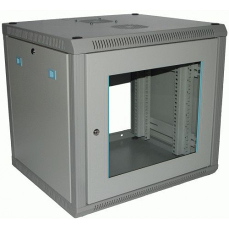 VBOZ 6U 600mm wide X 500mm deep, 19 inch Wall Mount Rack