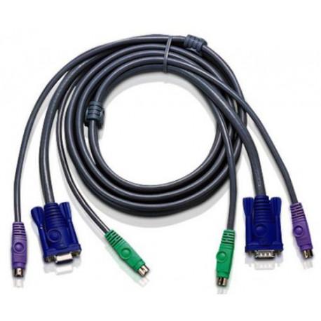 Aten 2L-1001PC PS2 KVM Cable