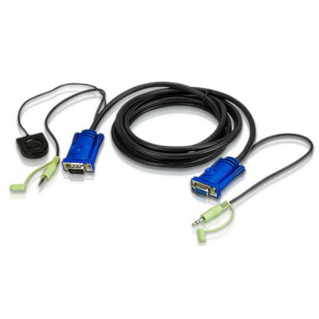 Aten 2L-5205B Port Switching VGA Cable   5m