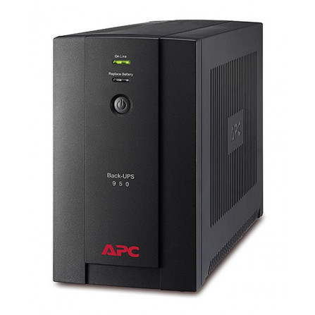 APC BX950U-MS Back-UPS 950VA, 230V, AVR, Universal and IEC Sockets