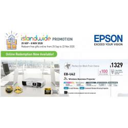 Epson EB-U42 LCD Projector WUXGA 3600 ANSI [Discontinued]