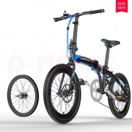 20 inch Lankeleisi Spoked Rim Folding Bicycle